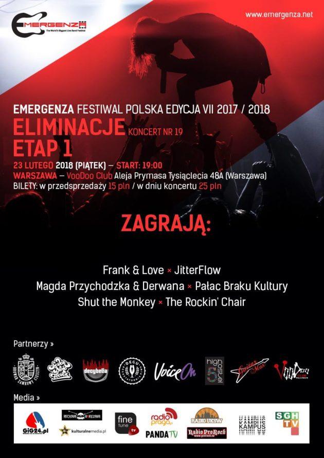 Eliminacje (Warszawa) EMERGENZA FESTIVAL PL VooDoo Club 7