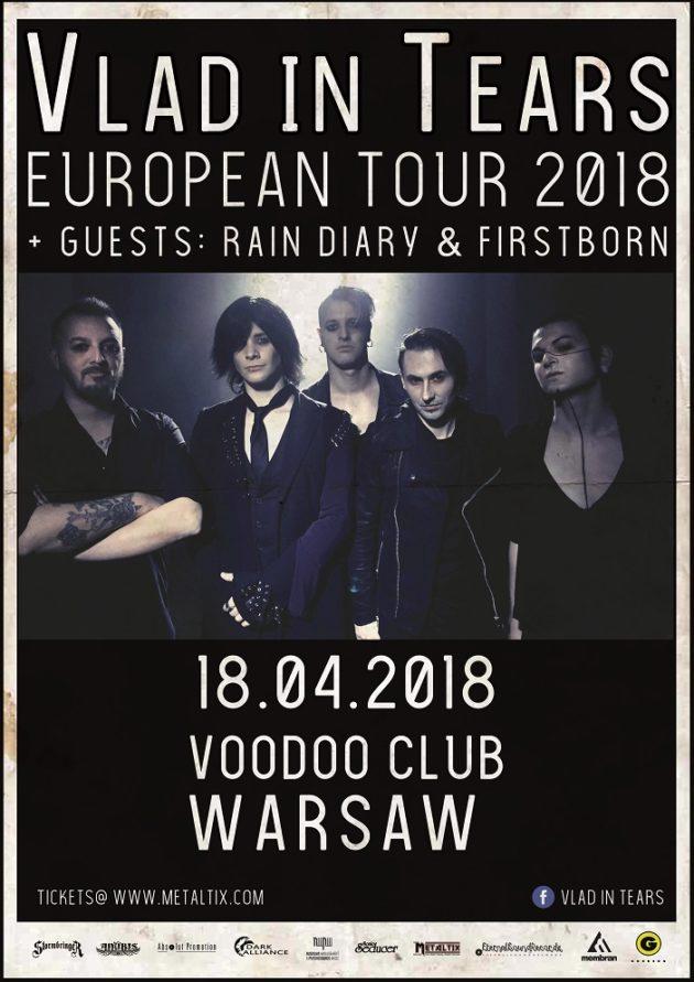 VLAD IN TEARS live in Warsaw