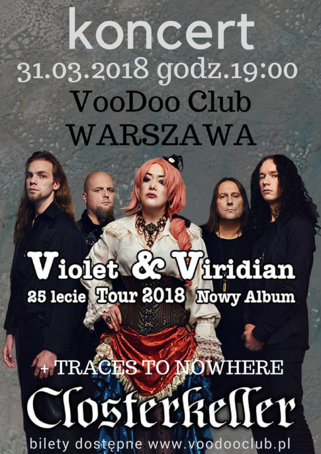 Closterkeller / Traces to Nowhere – VooDoo Club – Warszawa