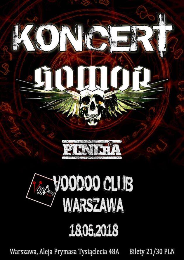 GOMOR / Penerra / 18.05 / VooDoo Club Warszawa