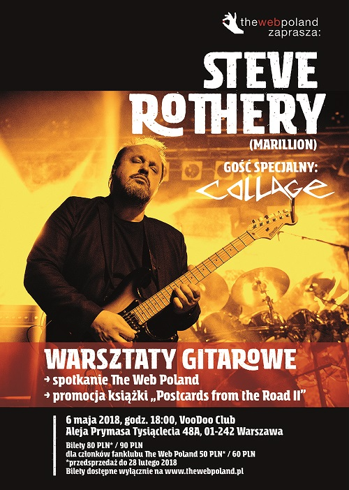 Steven Rothery w Polsce