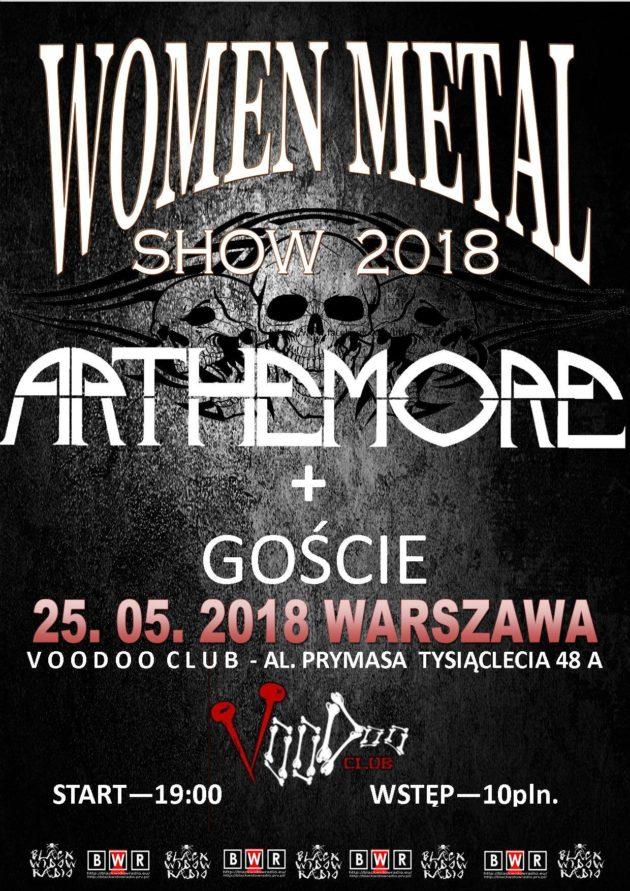 WOMEN METAL SHOW – Warszawa 2018