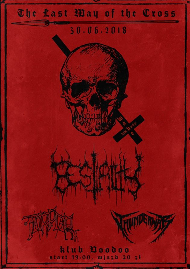 The Last Way of the Cross – Bestiality, Thunderwar, Torpor