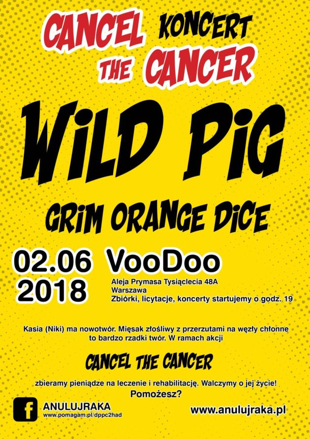 Wild Pig , Grim Orange Dice Konczerto – Cancel The Cancer