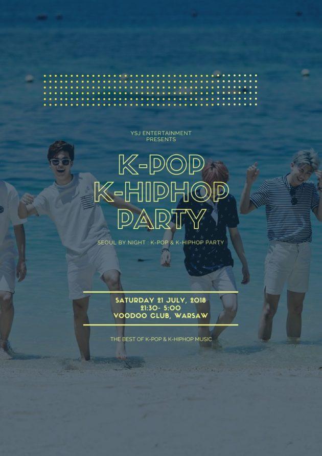 Seoul By Night #2 : K-Pop & K-HipHop Party (Warszawa)