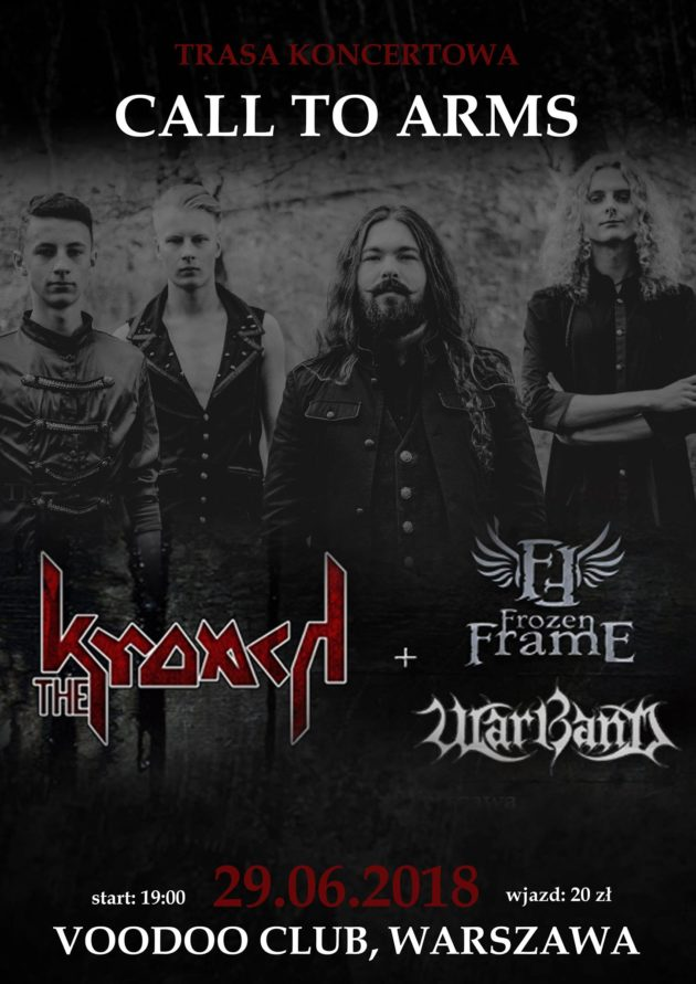 The Kroach w VooDoo, Warszawa +Warband i TBA