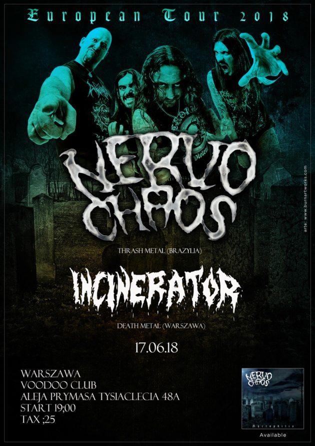 Nervo Chaos (Brasil) + Incinerator