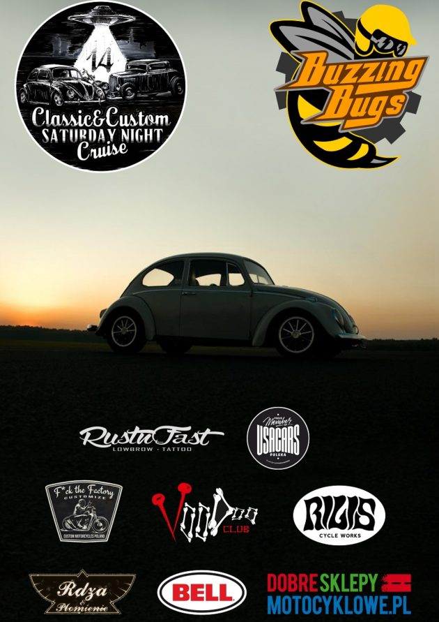 Classic & Custom Saturday Night Cruise #14