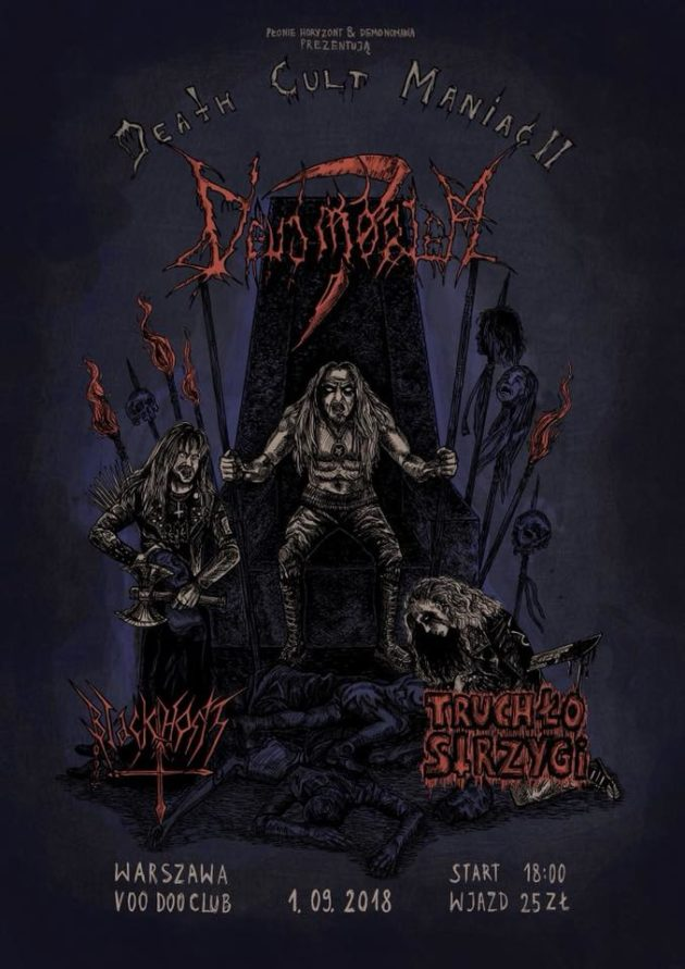 DEATH CULT Maniac II – Deus Mortem, Truchło Strzygi, Black Hosts