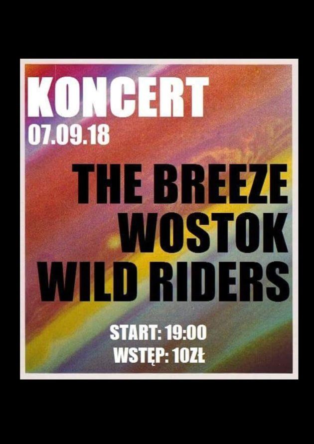 The Breeze x Wostok x Wild Riders – Letnia Scena VooDoo Club