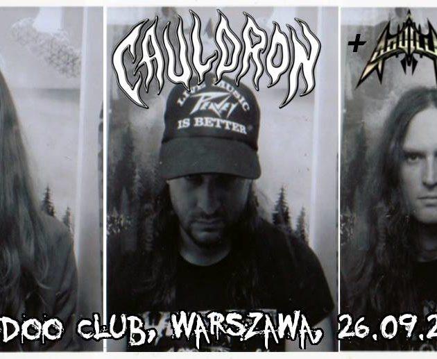 Cauldron, Aquilla, 26.09.2018, Warszawa | QHR Events