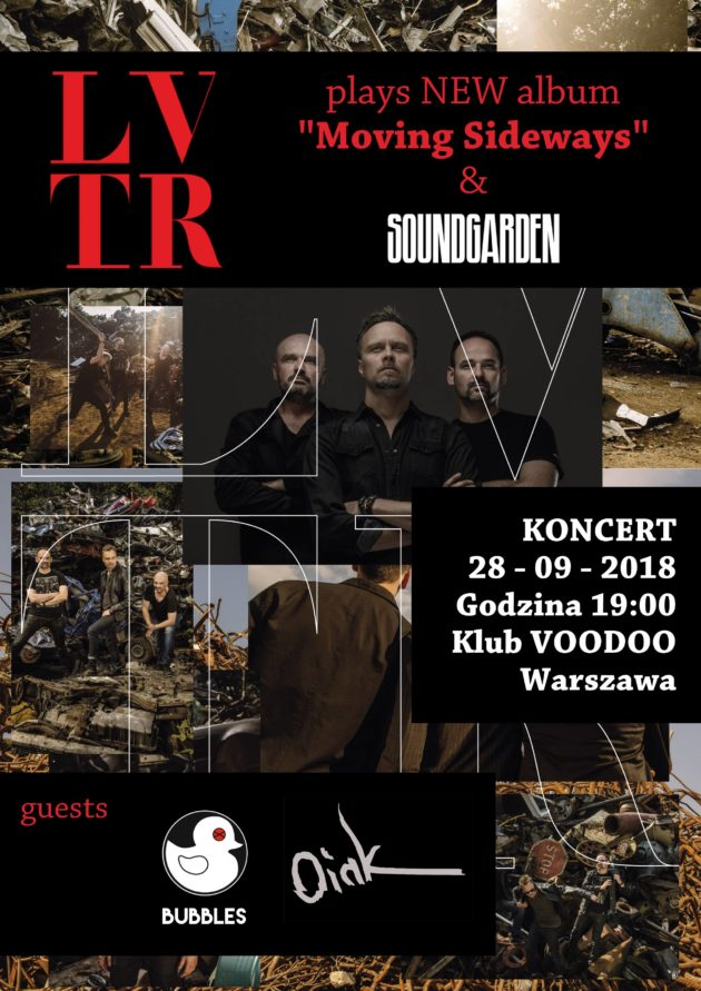 Koncert LVTR – VooDoo Club Warszawa