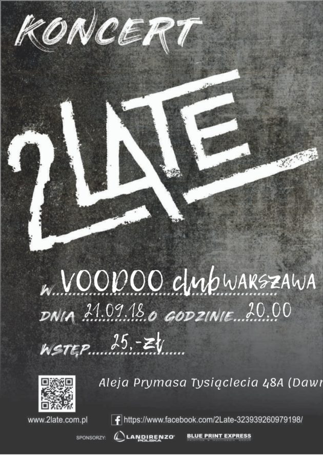 2LATE – VooDoo Club Warszawa