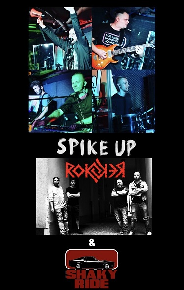Koncert Spike Up VooDoo Club Rokker & Shaky ride