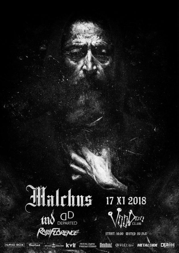 Koncert: Malchus, IND, Departed, Rain in Florence