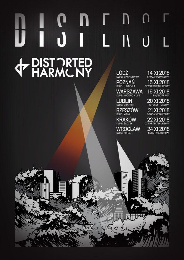 16/11 – Warszawa • Disperse • Distorted Harmony • support