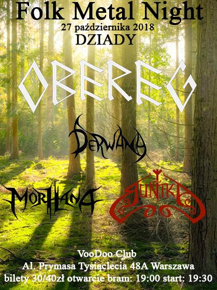 Folk Metal Night – Warszawa – Dziady