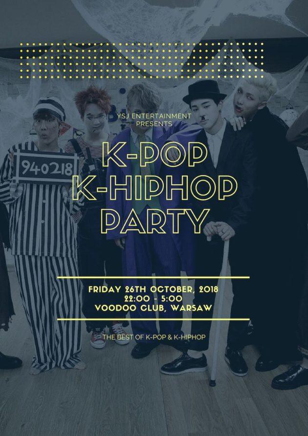 K-Pop Halloween Party in Warsaw