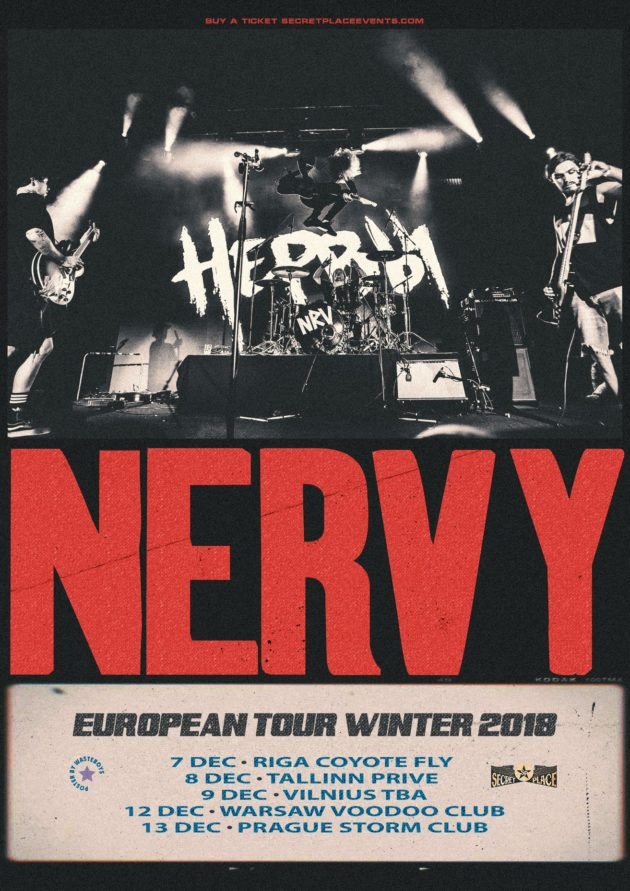 NERVI (UA) · Warsaw 12 Dec · VooDoo Club