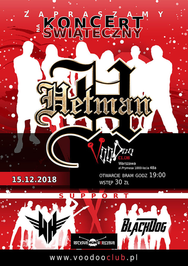Koncert Świąteczny – Hetman II White Highway II Black Dog