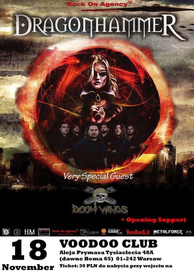 DragonhammeR + Doom Wings // W-wa VooDoo Club // 18.11.