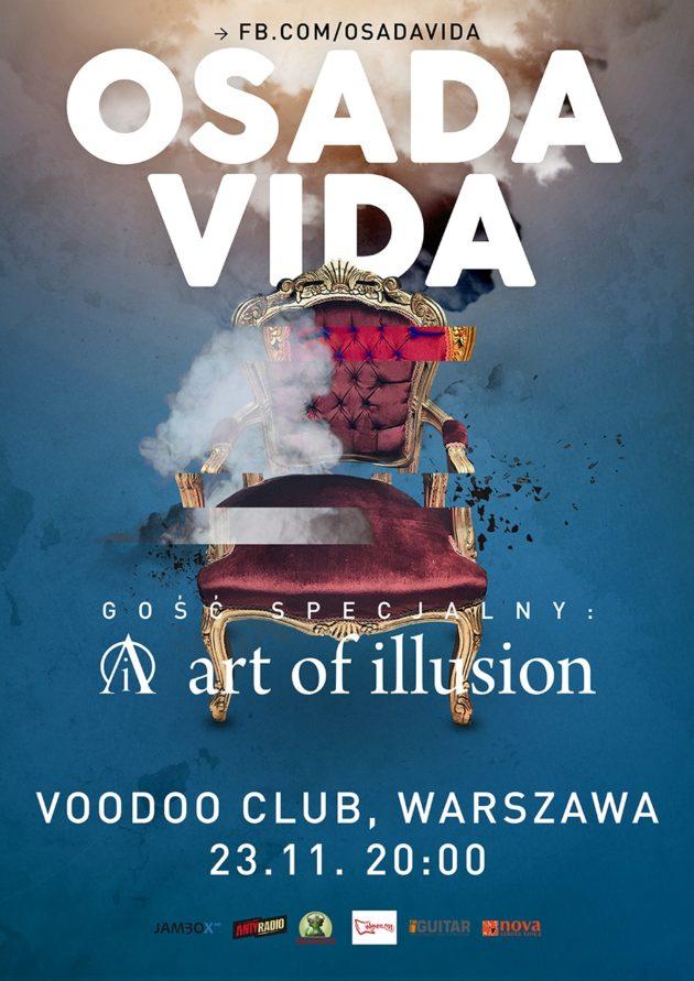 OSADA VIDA live! Warszawa – VooDoo Club