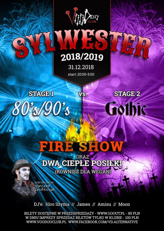Sylwester 2018/2019 w VooDoo Club