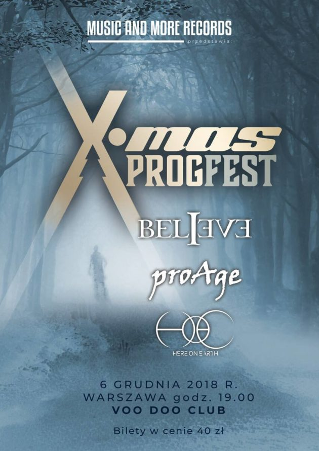 X-mas Progfest – Here on Earth / proAge / Believe