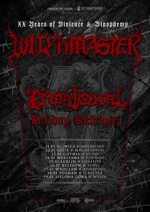 Witchmaster, Embrional, Brüdny Skürwiel – 14 I, VooDoo Club