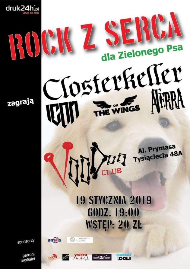 Rock z serca dla Zielonego Psa