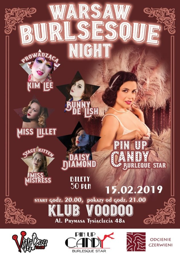 Warsaw Burlesque Night – Valentine's Day
