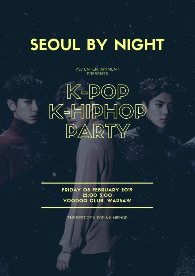 Seoul By Night : K-Pop & K-HipHop in Warsaw