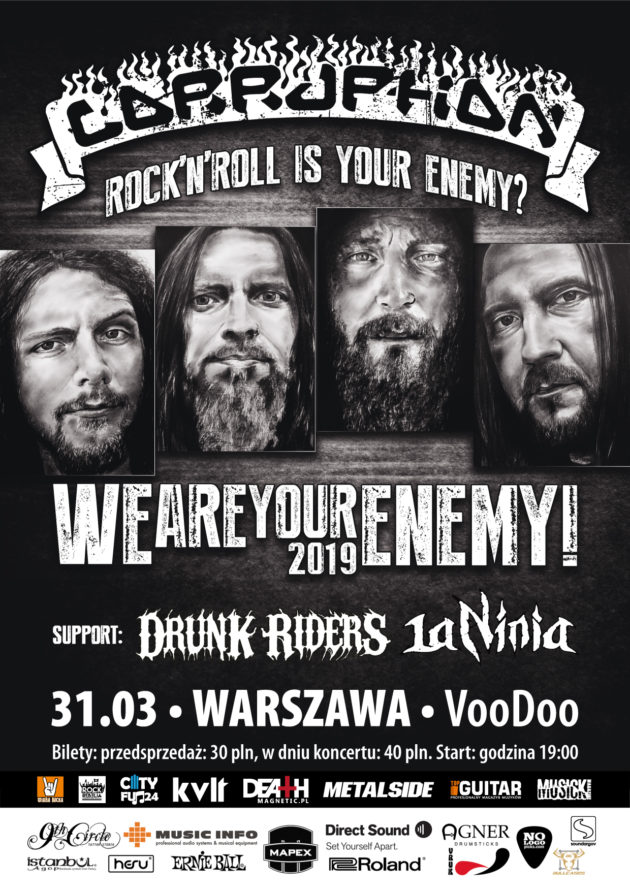 Corruption – Rock'n'Roll is Your Enemy? We are Your Enemy!