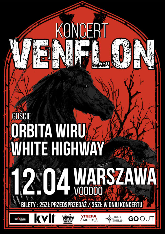 Venflon + Orbita Wiru, White Highway