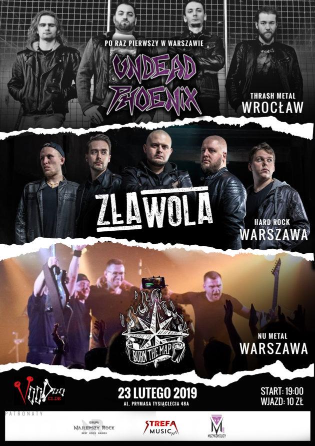 Undead Phoenix x Zła Wola + goście