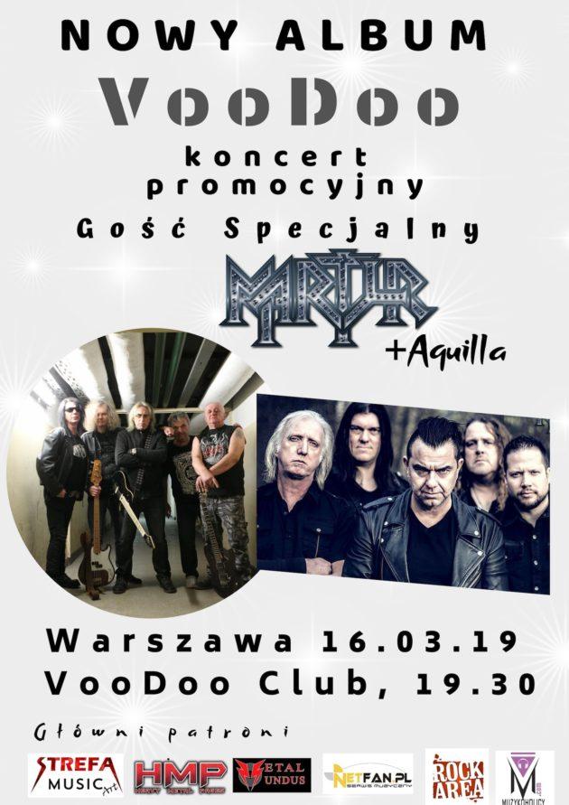VooDoo promuje album – Gość Specjalny – Martyr (NL) + Aquilla
