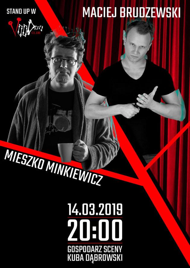 Stand-Up w VooDoo nr 1: Minkiewicz, Brudzewski