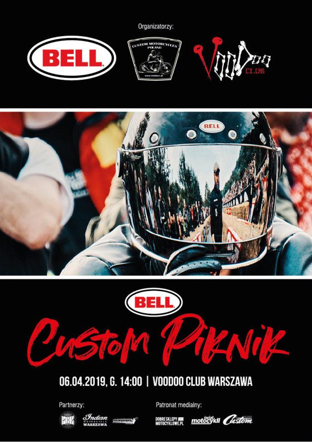 BELL Custom Piknik 2019 / VooDoo Club Warszawa