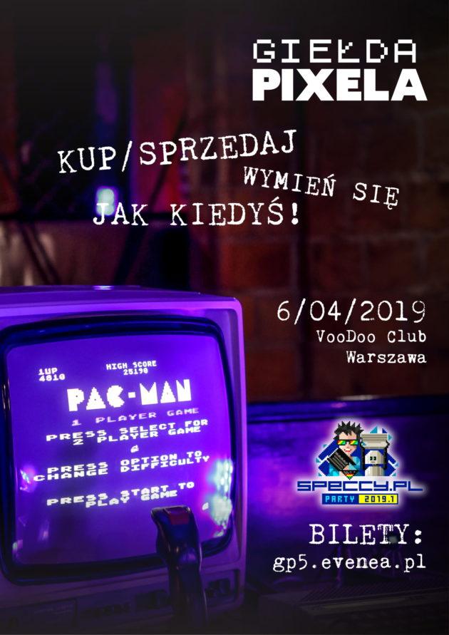 Giełda Pixela & Speccy.pl Party 2019