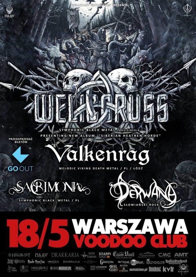 Welicoruss / Siberian Heathen Horde Tour / Warszawa