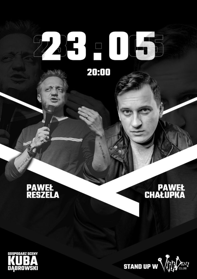 Stand-Up w VooDoo nr 3: Paweł Chałupka i Paweł Reszela