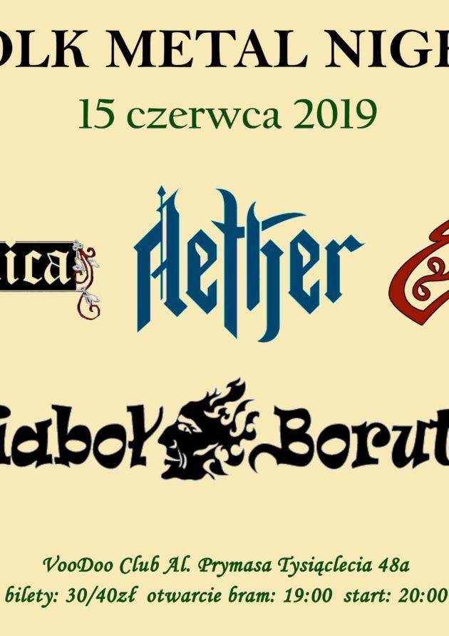 Folk Metal Night – Noc Kupały – Warszawa