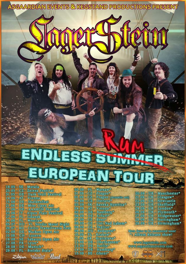 Folk Metal Night Warsaw – Lagerstein album release tour & guests
