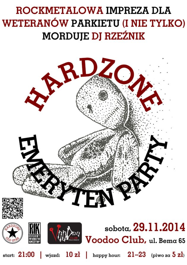 Hardzone Emeryten Party XV: N J key