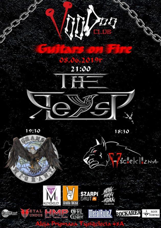 Guitars on Fire – Wścieklizna x Grand Migrant x The Reysp