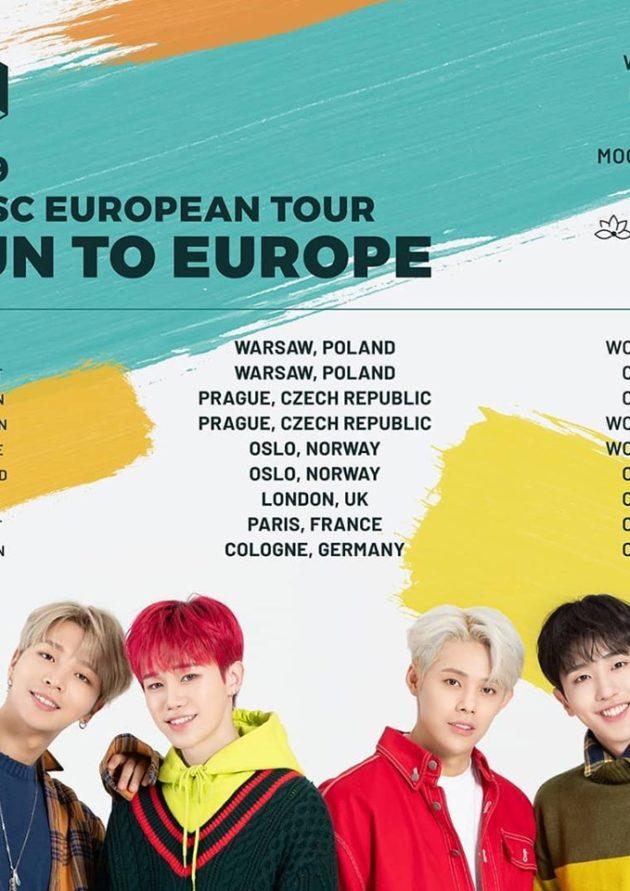"""MASC: 2019 European Tour """"Run To Europe"""" in Warsaw"""