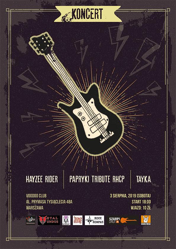 Letnia Scena VD – Hayzee Rider x Papryki Tribute RHCP x Tayka