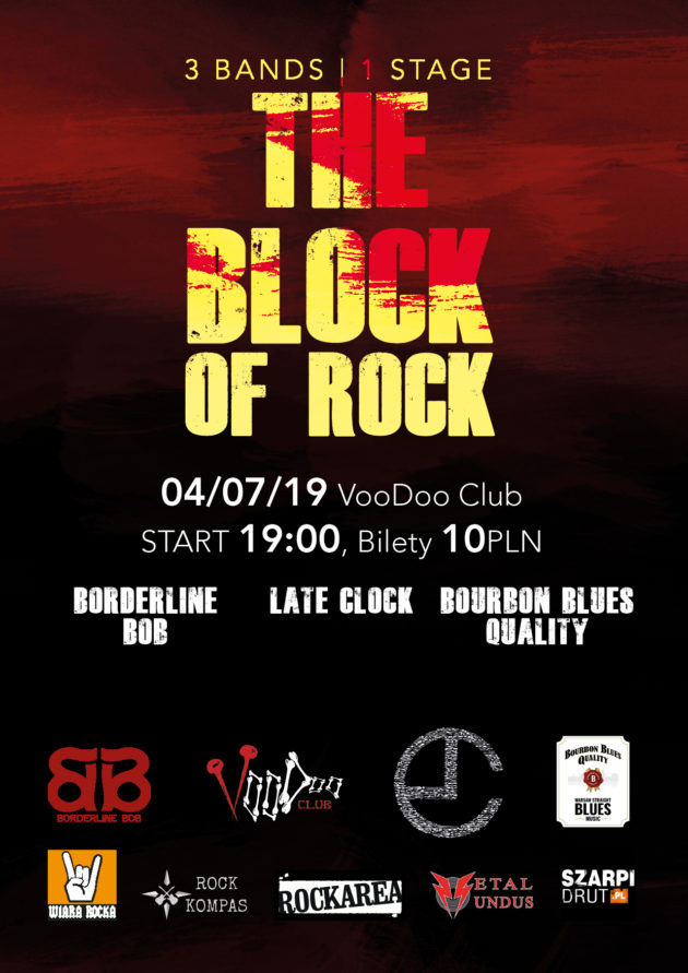 The BLOCK of ROCK – Late Clock x Borderline Bob x BBQ