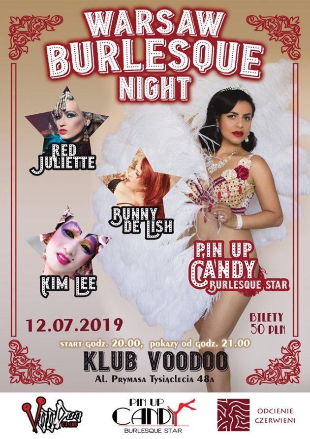 Warsaw Burlesque Night – Summer Edition