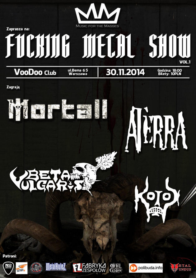 FUCKING METAL SHOW vol.1
